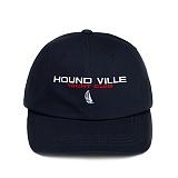 [하운드빌]HOUNDVILLE - HDVL yacht club ballcap navy 볼캡 야구모자