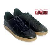[레드우드]REDWOOD - FAXT BLACK LEATHER_패스트 블랙 레더 독일군 스니커즈