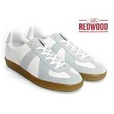 [레드우드]REDWOOD - FAXT WHITE-GREY LEATHER_패스트 화이트-그레이 레더 독일군 스니커즈