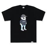 [레이든]LAYDEN - SUMMER LAYGOM TEE-BLACK 반팔 반팔티 티셔츠