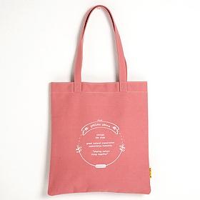[옐로우스톤] 에코백 CANVAS ECOBAG - YS2025PB 핑크 에코 에코백 친환경가방