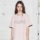 [어나더프레임] ANOTHER FRAME - IN FRAME T-SHIRT (PINK) 반팔티 반팔 티셔츠