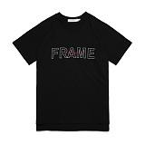 [어나더프레임] ANOTHER FRAME - IN FRAME T-SHIRT (BLACK) 반팔티 반팔 티셔츠