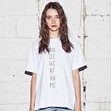 [어나더프레임] ANOTHER FRAME - AF LO-LOGO T-SHIRT (WHITE) 반팔티 반팔 티셔츠