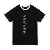 [어나더프레임] ANOTHER FRAME - AF LO-LOGO T-SHIRT (BLACK) 반팔티 반팔 티셔츠