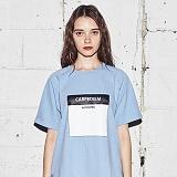 [어나더프레임] ANOTHER FRAME - CARPDIEM T-SHIRT (SKY BLUE) 반팔티 반팔 티셔츠