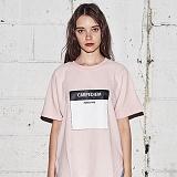 [어나더프레임] ANOTHER FRAME - CARPDIEM T-SHIRT (PINK) 반팔티 반팔 티셔츠