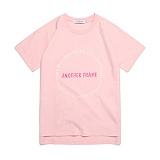 [어나더프레임] ANOTHER FRAME - AF CIRCLE T-SHIRT (PINK) 반팔티 반팔 티셔츠