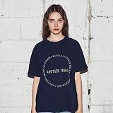[어나더프레임] ANOTHER FRAME - AF CIRCLE T-SHIRT (NAVY) 반팔티 반팔 티셔츠