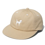 [위티나트]WxA - SNAPDOG 6-Panel CAP (sand brown) 볼캡 모자 야구모자 패널캡 캡모자