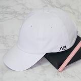 [에이비로드] ABROAD - Basic Baseball Cap (white) 볼캡 모자 캡