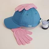 [에이비로드]ABROAD - Basic Baseball Cap (blue) 볼캡 모자 캡