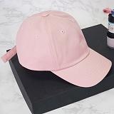 [에이비로드] ABROAD - Basic Baseball Cap (pink) 볼캡 모자 캡