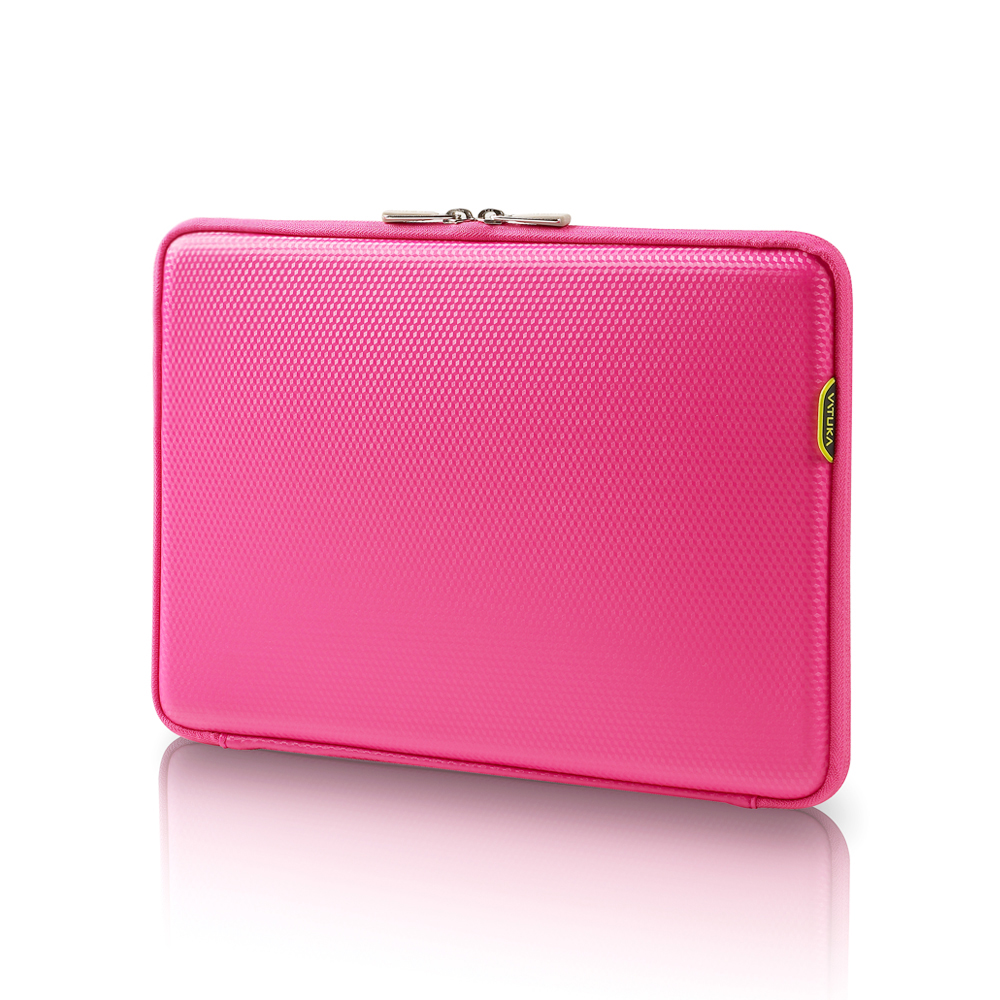 [바투카]VATUKA - 3D큐브 노트북 파우치 15.6[B] - HOT PINK