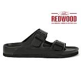 [레드우드]REDWOOD - MONO POOL SLIDERS BLACK_모노 풀 슬라이더 블랙 샌들 슬리퍼