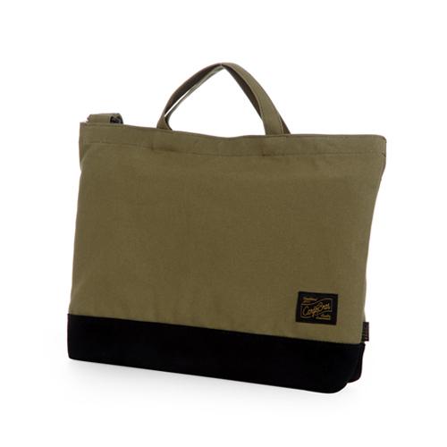 [카고브로스] Cargobros CB06 2Way Cross bag - Khaki 토트백 크로스백 숄더백
