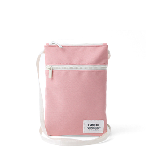 [버빌리안] 미니크로스백 파우치 핑크