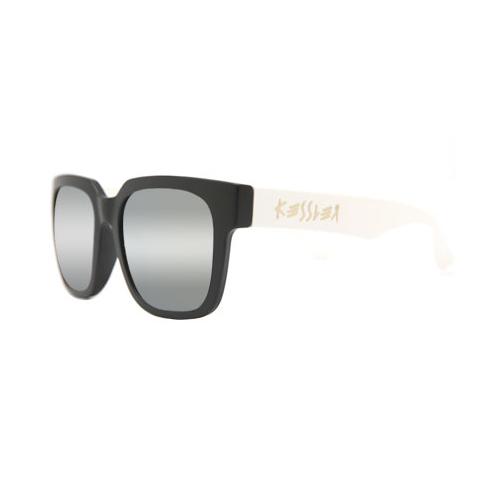 [케슬러] KESSLER - CLOUD BK-WH_SILVER 선글라스 선글 미러 미러선글라스 실버미러 MIRROR 안경 아이웨어 SUNGLASS