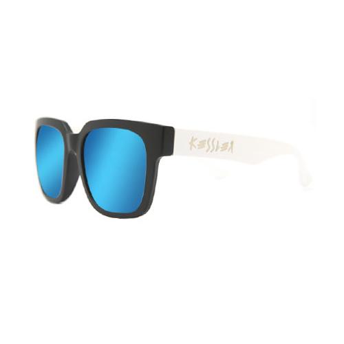 [케슬러] KESSLER - CLOUD BK-WH_BLUE 선글라스 선글 미러 미러선글라스 블루미러 MIRROR 안경 아이웨어 SUNGLASS