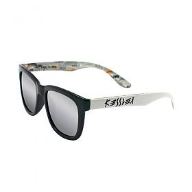 [케슬러] KESSLER - KE3001 01 BK_WH 선글라스 선글 미러 미러선글라스 실버미러 MIRROR 안경 아이웨어 SUNGLASS