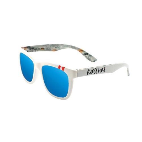 [케슬러] KESSLER - KE3001 02 WH_B 선글라스 선글 미러 미러선글라스 블루미러 MIRROR 안경 아이웨어 SUNGLASS