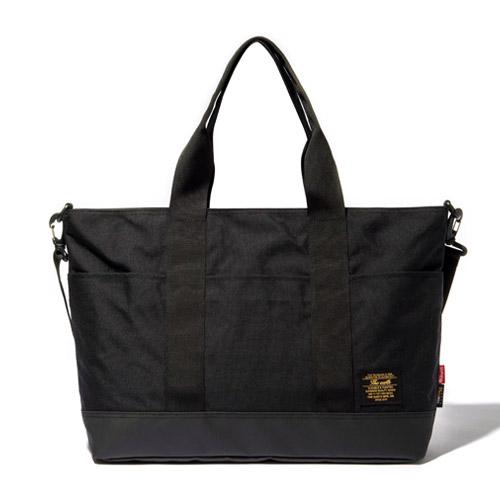 [디얼스]THE EARTH - COMFORT TOTE BAG - BLACK 토트백 숄더백 가방