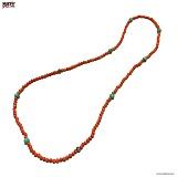 SEXTO - [Handmade]I.D necklace Orange 목걸이