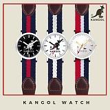 캉골(KANGOL)KG11232 CENTER-L 나토밴드 시계