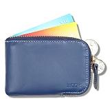 [비코어] Becore Card Zipper Blue (비코어 카드지퍼 블루) 카드지갑 반지갑 남성지갑 남자지갑 여성반지갑