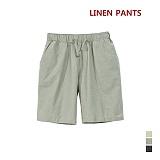 [어커버]ACOVER - 린넨 Banding Shorts 반바지 하프팬츠 린넨반바지 린넨하프팬츠 린넨쇼츠