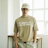 [매스노운]MASSNOUN Unisex T-Shirt - INTERNATIONAL - MUSTS005-BG 유니섹스 인터내셔널 반팔티