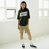 [매스노운]MASSNOUN Unisex T-Shirt - COMBINE - MUSTS008-KK 유니섹스 컴바인 반팔티