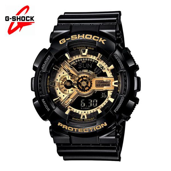 지샥 GA110GB-1A 빅페이스 검금 흑금 손목시계