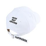 [슈퍼비젼]supervision - CUTYHARD BALLCAP WHITE - [POP]야구모자 화이트