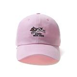 [그루브라임]Grooverhyme - 2016 PIZZAZAZA CAP (LIGHT PINK) [GC008E23LP] 피자 볼캡 야구모자
