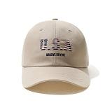[그루브라임]Grooverhyme - 2016 USA-3 CAP (BEIGE) [GC009E23BE] 볼캡 야구모자