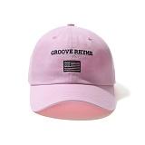 [그루브라임]Grooverhyme - 2016 USA-5 CAP (LIGHT PINK) [GC011E23LP] 볼캡 야구모자