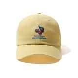 [그루브라임]Grooverhyme - 2016 CHERRY CHERRY CAP (YELLOW) [GC012E23YE] 체리체리 볼캡 야구모자