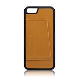 [에가든] EGARDEN - iPhone6/6S+ Back Cover Card Case_Tan 아이폰 케이스