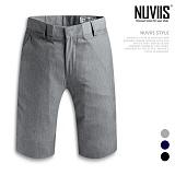 [뉴비스] NUVIIS - 포멀 베이직 5부 슬랙스 (AD025SPN) 반바지 슬랙스반바지 반바지슬랙스 5부슬랙스 5부바지