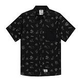 [스티그마]STIGMA - STAY HIGH STAY COOL WORK SHIRTS BLACK 반팔남방 워크셔츠 셔츠