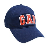 [갭]국내배송  GAP 갭 모자 로고 볼캡 191151_02 네이비(주황로고) NAVY ball cap