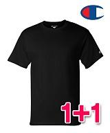 [챔피온]Champion - 1+1 세트판매T425 챔피온 무지 라운드반팔 티셔츠 정품 국내배송