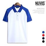 [뉴비스] NUVIIS - 남녀공용 나그랑 카라 반팔 티셔츠 (KH008TS) 반팔 반팔티 티셔츠 나그랑티셔츠