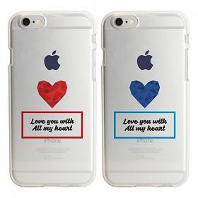 디팍스 - DROMERIG 문구제작 ALL MY HEART SOFT CASE 휴대폰케이스