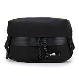 [핍스] PEEPS trekker waist bag(black) 웨이스트백 메신저백 힙색 hipsack