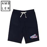 [엠블러]AMBLER 신상 트레이닝 5부반바지 ASP103-차콜 팬츠 반바지 바지