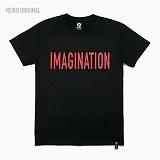 [레이쿠] reiku imagination 16 short r-black 반팔티