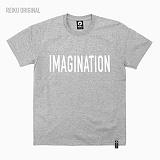 [레이쿠] reiku imagination 16 short w-gray 반팔티