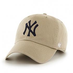 47브랜드 - MLB모자 뉴욕 양키즈 카키_야구모자 볼캡 캡모자